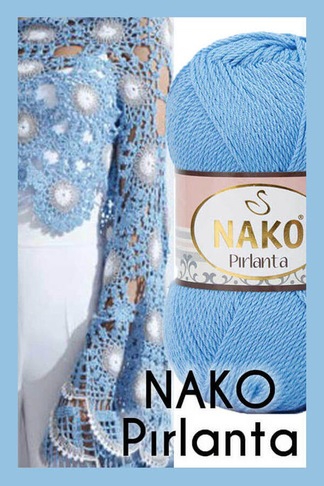 NAKO - NAKO PIRLANTA 6976 Canlı Mavi