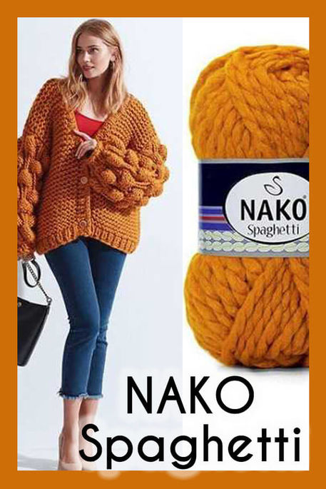 NAKO - NAKO SPAGHETTİ 941 Hardal