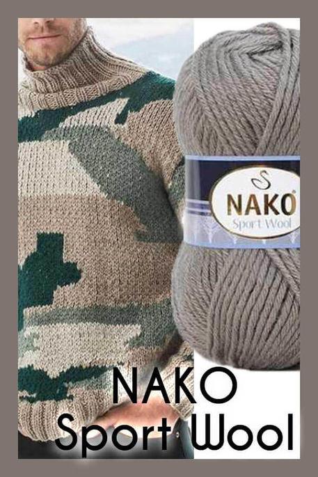 NAKO - NAKO SPORT WOOL 922 Fil Derisi