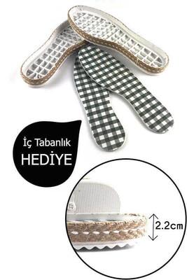 - PATİK TABANI KALIN HASIRLI