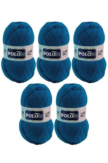 POLOSU - POLOSU CANDY BABY 222 Koyu Boncuk Mavi