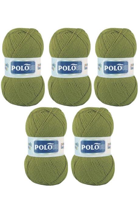 POLOSU - POLOSU CANDY BABY 228 Açık Haki Yeşil