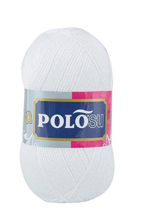 POLOSU - POLOSU LÜKS PATİKLİK 308 Beyaz