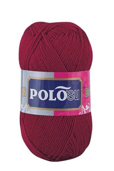 POLOSU - POLOSU LÜKS PATİKLİK 367 Koyu Kırmızı