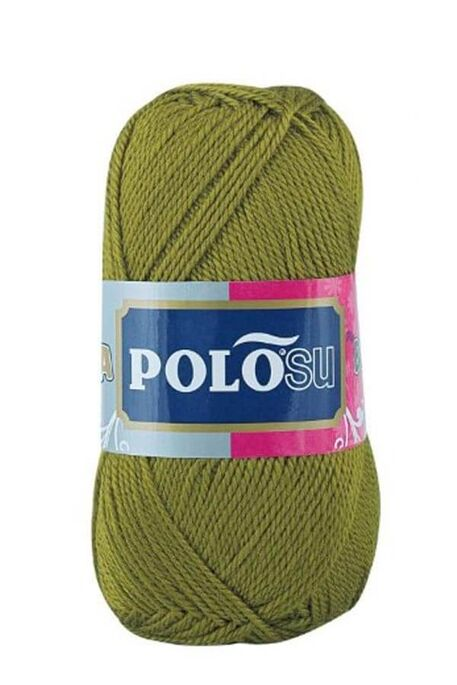 POLOSU - POLOSU LÜKS PATİKLİK 374 Açık Haki Yeşil