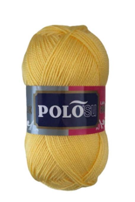 POLOSU - POLOSU LÜKS PATİKLİK 378 Açık Sarı