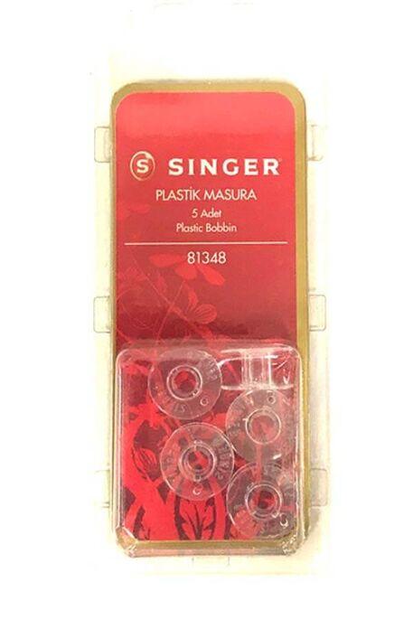 SİNGER - SİNGER PLASTİK MASURA 5 Lİ PAKET 81348 GENİŞ