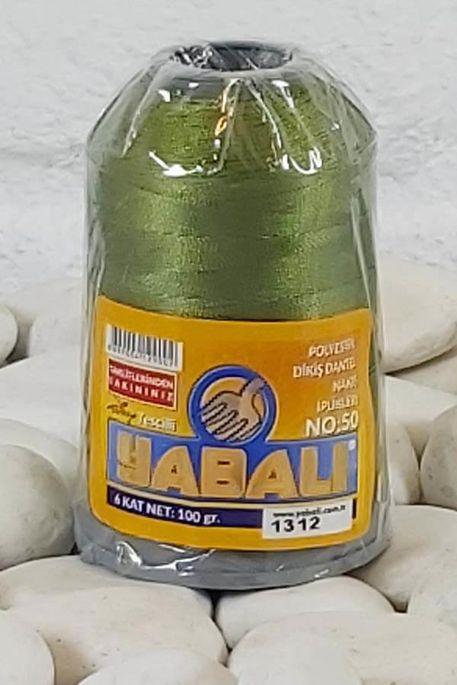 YABALI - YABALI 100 GR RENKLİ POLYESTER 1312 YEŞİL