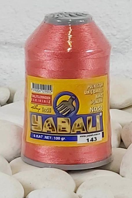 YABALI - YABALI 100 GR RENKLİ POLYESTER 143 K.YAVRU AĞZI