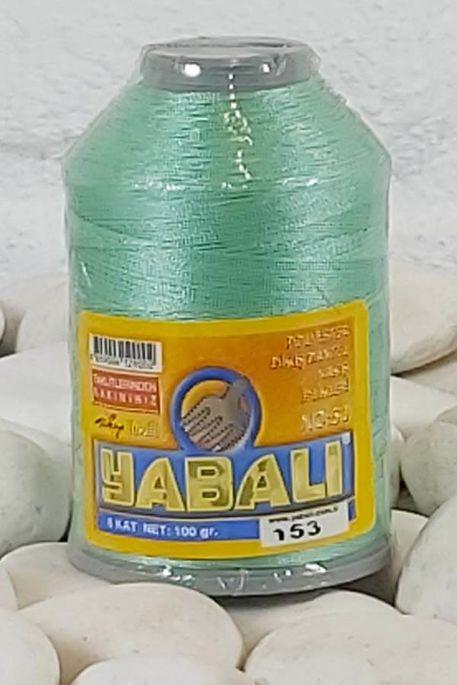 YABALI - YABALI 100 GR RENKLİ POLYESTER 153 A.YEŞİL