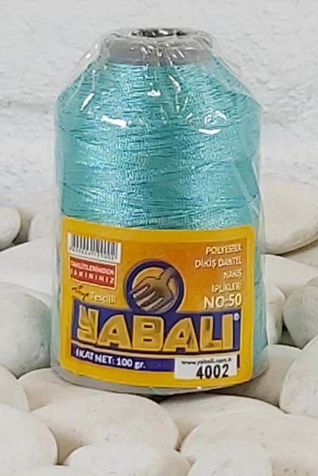 YABALI - YABALI 100 GR RENKLİ POLYESTER 4002 A.TURKUAZ