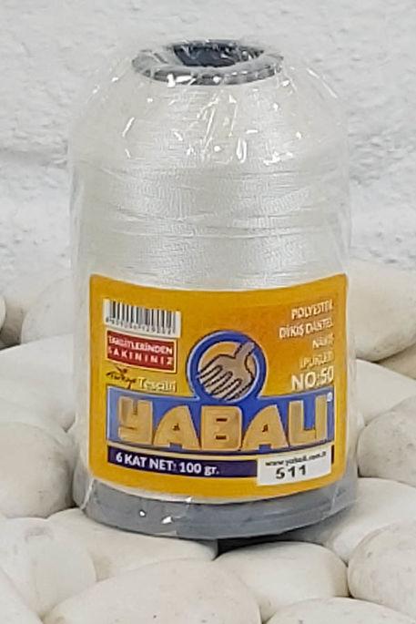 YABALI - YABALI 100 GR RENKLİ POLYESTER 511 KREM