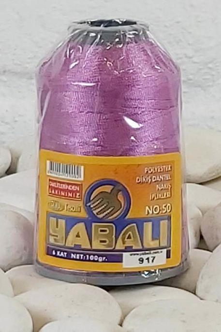YABALI - YABALI 100 GR RENKLİ POLYESTER 917 K. LEYLAK