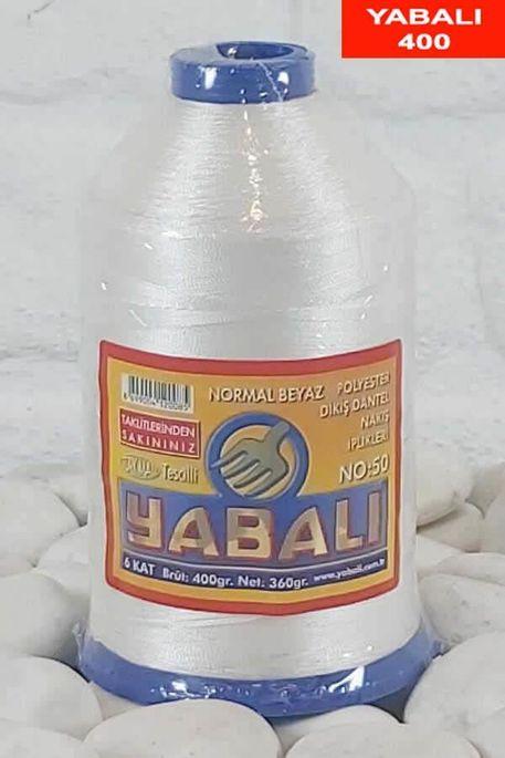 YABALI - YABALI 400 NORMAL BEYAZ 50 POLYESTER