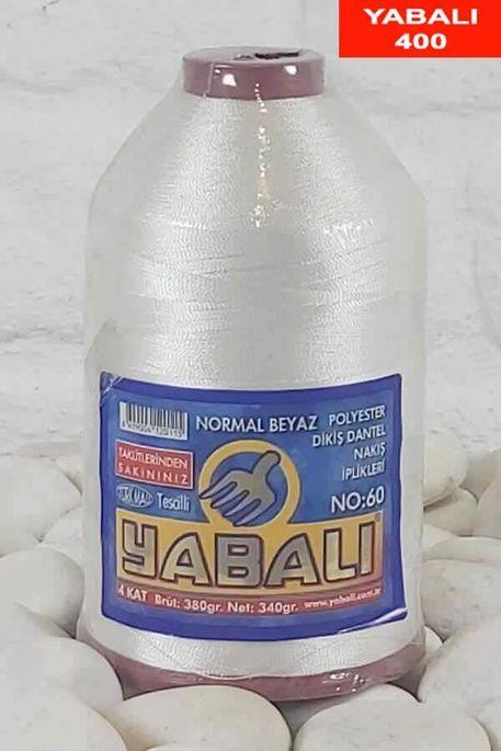 YABALI - YABALI 400 NORMAL BEYAZ 60 POLYESTER