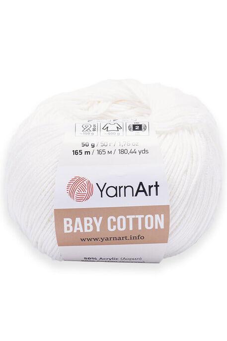 YARNART - YARNART BABY COTTON 401