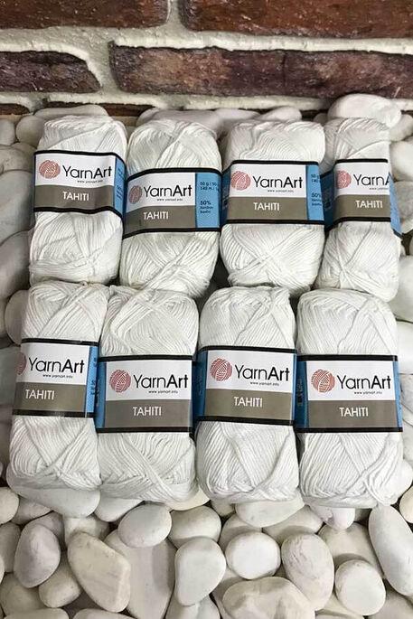 YARNART - YARNART TAHITI 210 8 Lİ PKT 400GR